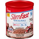 SlimFast Original Creamy Milk Chocolate Meal Replacement Shake Mix