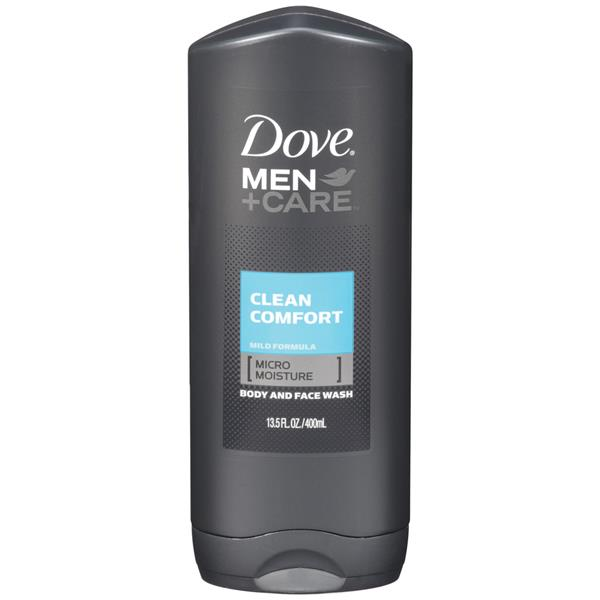 Dove Men+Care Clean Comfort Body & Face Wash
