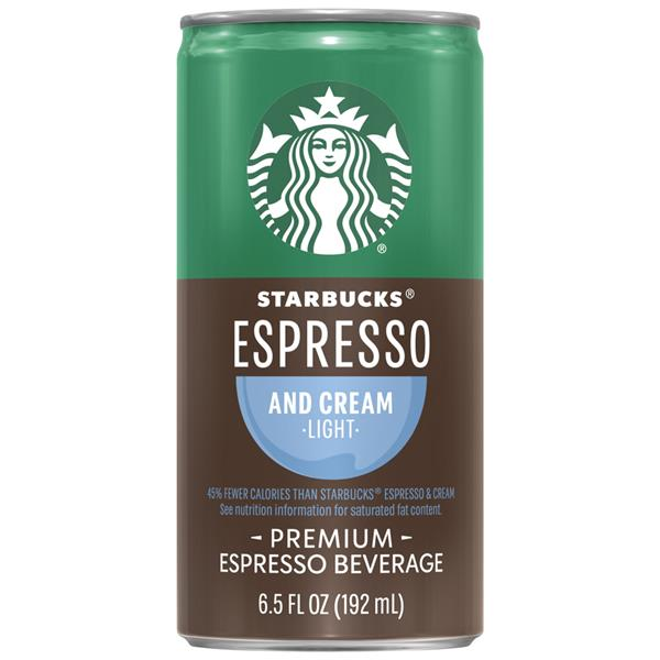 Starbucks Double Shot Espresso And Cream Coffee Drink Hy Vee Aisles Online Grocery Shopping