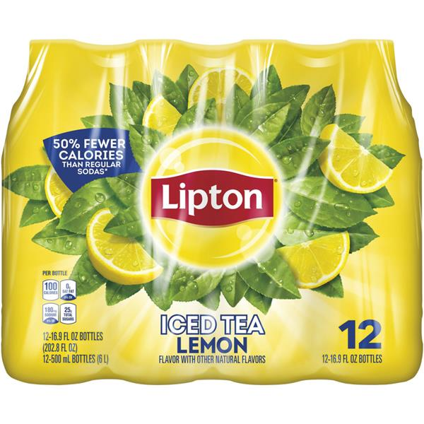 Lipton Lemon Iced Tea 12 Pack
