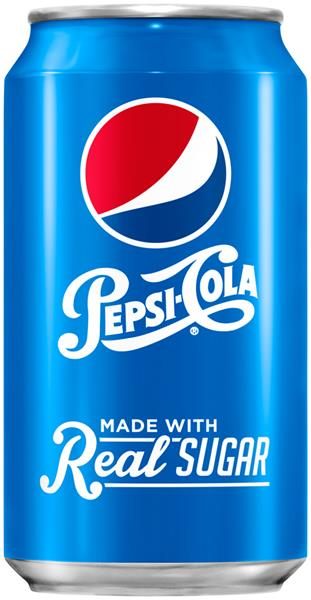 Pepsi Made With Real Sugar 12 Pack