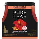 Pure Leaf Brewed Herbal Tea Peach Hibiscus Flavor 6Pk