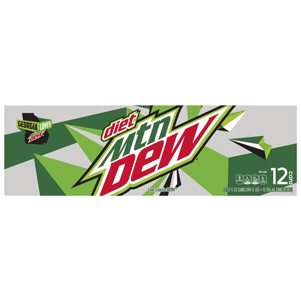 Diet Mountain Dew 12 Pack