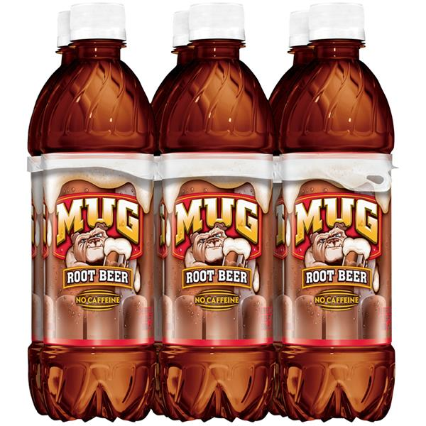 Mug Root Beer No Caffeine Soda 6 Pack