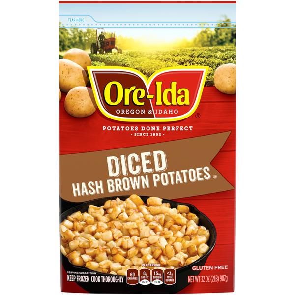 Ore-Ida Diced Hash Brown Potatoes