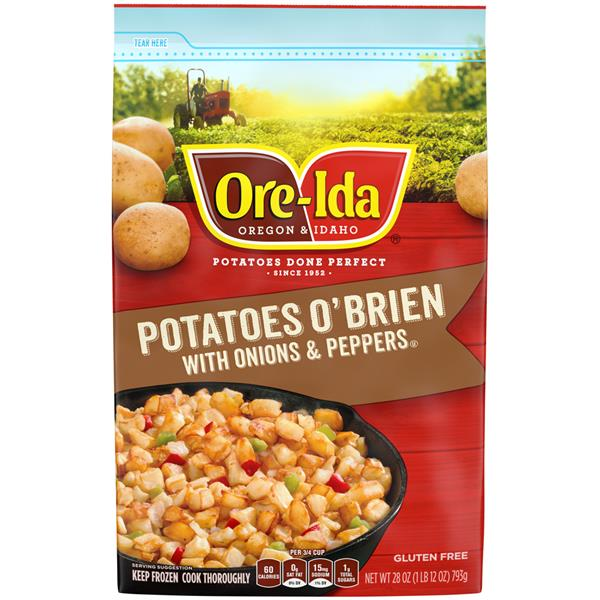 Ore-Ida Potatoes O'Brien with Onions & Peppers