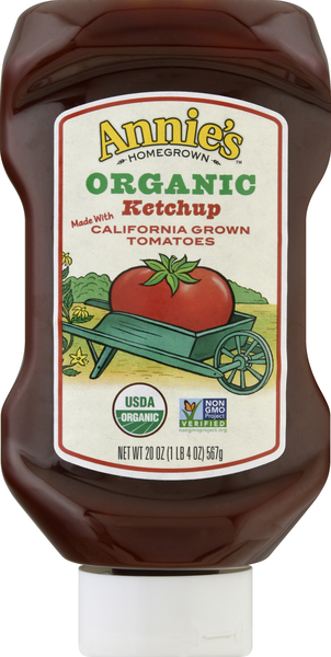 Annie's Homegrown Certified Organic Ketchup