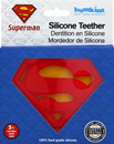 Bumkins Teether, Silicone, Superman, 3+ Months