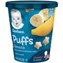 Gerber Puffs Banana Cereal Snacks