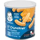 Gerber Graduates lil&#39 Crunchies Mild Cheddar Baked Whole Grain Corn Snack