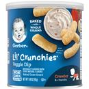 Gerber Graduates lil' Crunchies Veggie Dip Baked Whole Grain Corn Snack