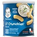 Gerber Graduates lil' Crunchies Ranch Baked Whole Grain Corn Snack