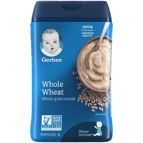 Gerber Whole Wheat Cereal
