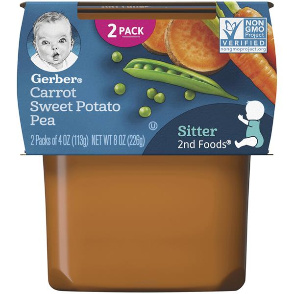 Gerber 2nd Foods Mixed Vegetables Baby Food 2 Pack