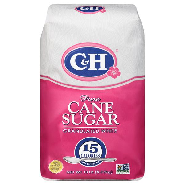 C&H Pure Cane Granulated White Sugar