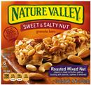 Nature Valley Roasted Mixed Nut Sweet & Salty Nut Granola Bars 6-1.2 oz Bars