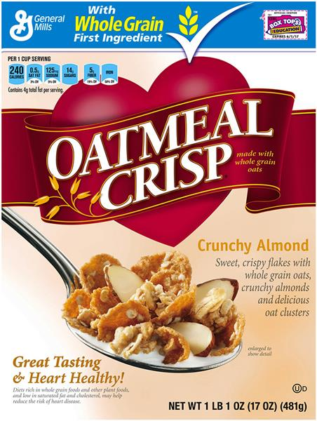 GENERAL MILLS OATMEAL CRISP COUPON