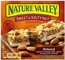 Nature Valley Almond Sweet & Salty Nut Granola Bars 6-1.2 oz Bars