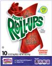 Betty Crocker Fruit Roll-Ups Strawberry Sensation Fruit Flavored Snacks 10-0.5 oz Rolls