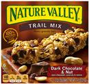 Nature Valley Trail Mix Chewy Granola Bars, Dark Chocolate & Nut 6-1.2 oz Bars