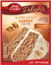 Betty Crocker Delights Super Moist Carrot Cake Mix