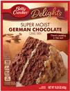 Betty Crocker Delights Super Moist German Chocolate Cake Mix