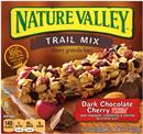 Nature Valley Fruit & Nut Dark Chocolate Cherry Trail Mix Chewy Granola Bars 6-1.2 oz Bars