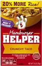 Betty Crocker Hamburger Helper Crunchy Taco