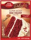 Betty Crocker Delights Super Moist Red Velvet Cake Mix