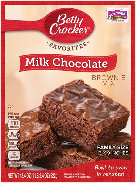 Betty Crocker Dark Chocolate Brownie Mix
