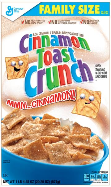 Cinnamon crunch cereal coupons