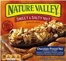 Nature Valley Chocolate Pretzel Nut Sweet & Salty Nut Granola Bars 6-1.2 oz Bars