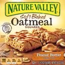 Nature Valley Peanut Butter Soft-Baked Oatmeal Squares 6-1.24 oz Bars