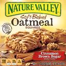 Nature Valley Cinnamon Brown Sugar Soft-Baked Oatmeal Squares 6-1.24 oz Bars