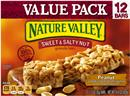 Nature Valley Peanut Sweet & Salty Nut Granola Bars 12-1.2 oz Bars