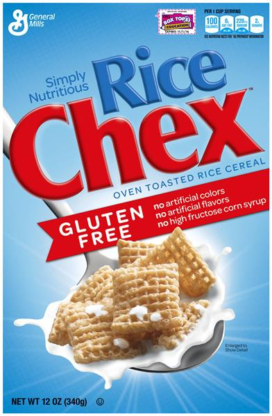 General Mills Rice Chex Gluten Free Cereal
