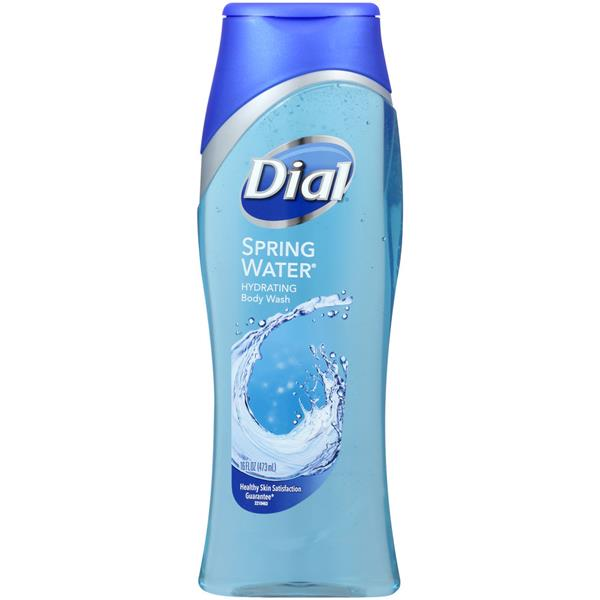 Dial Spring Water All Day Freshness Antibacterial Body