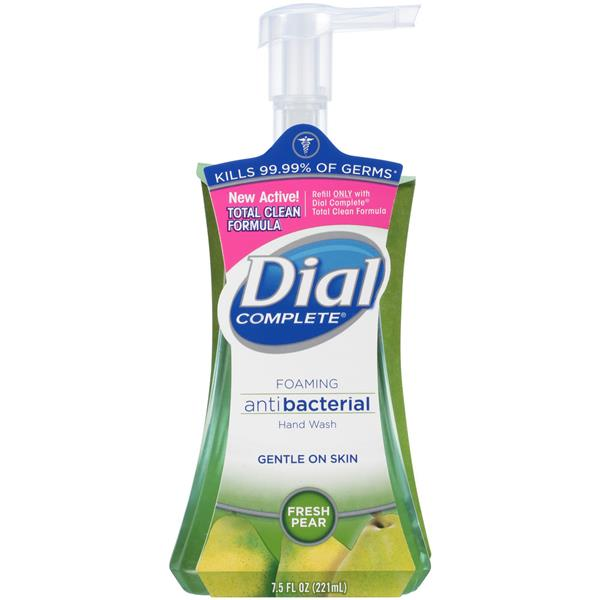 Dial Complete Fresh Pear Foaming Antibacterial Hand Wash