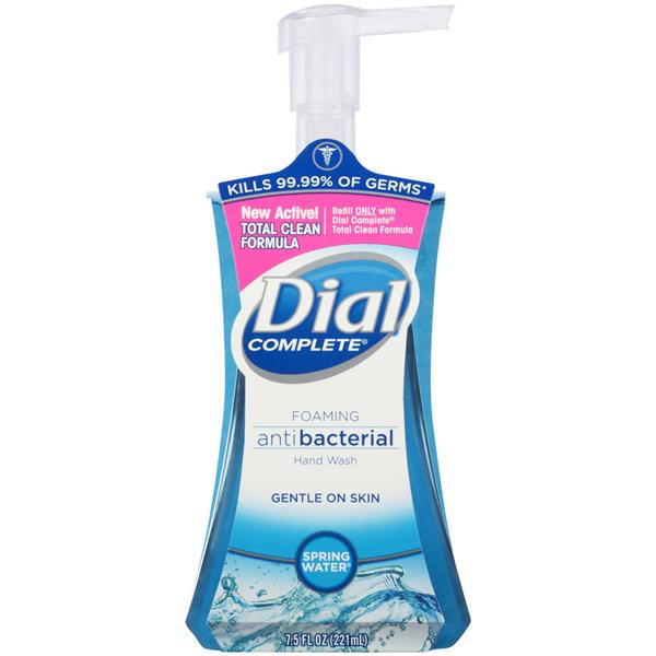 Dial Complete Foaming Antibacterial Spring Water Hand Wash
