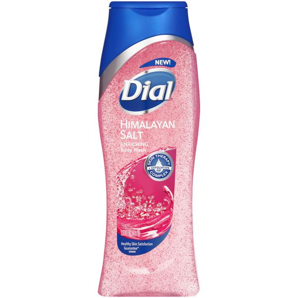 Dial Skin Therapy with Himalayan Pink Salt & Water Lilly Replenishing Body Wash
