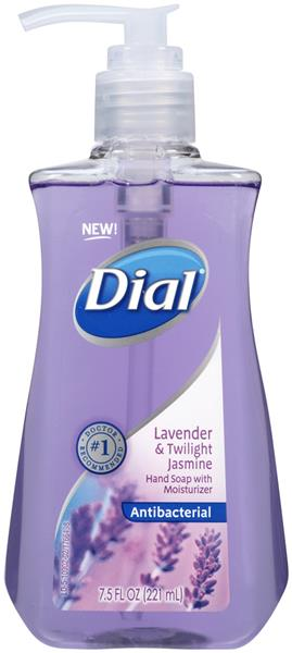 Dial Lavender & Twilight Antibacterial Hand Soap with Moisturizer