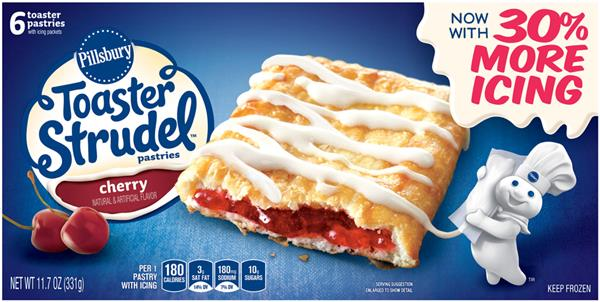 Pillsbury Toaster Strudel Cherry Toaster Pastries 6Ct