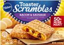 Pillsbury Toaster Scrambles Bacon & Sausage Toaster Pastries 4 Count