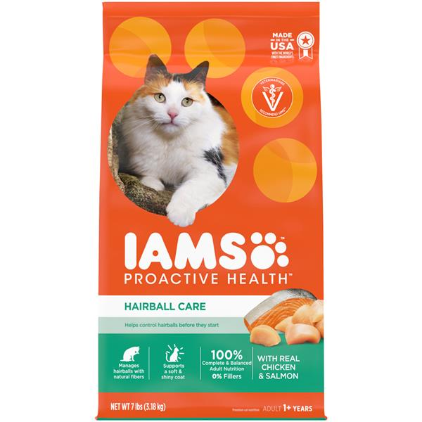 Cat Food That Helps With Hairballs