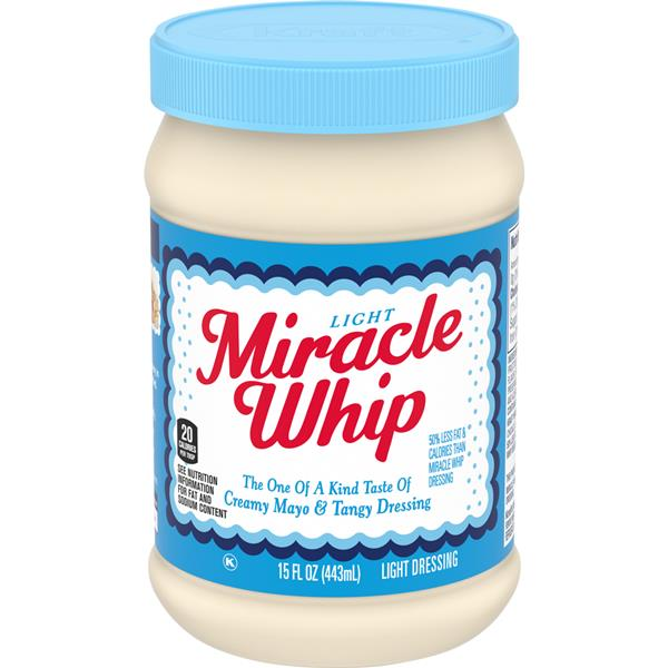 Kraft Miracle Whip Light Dressing