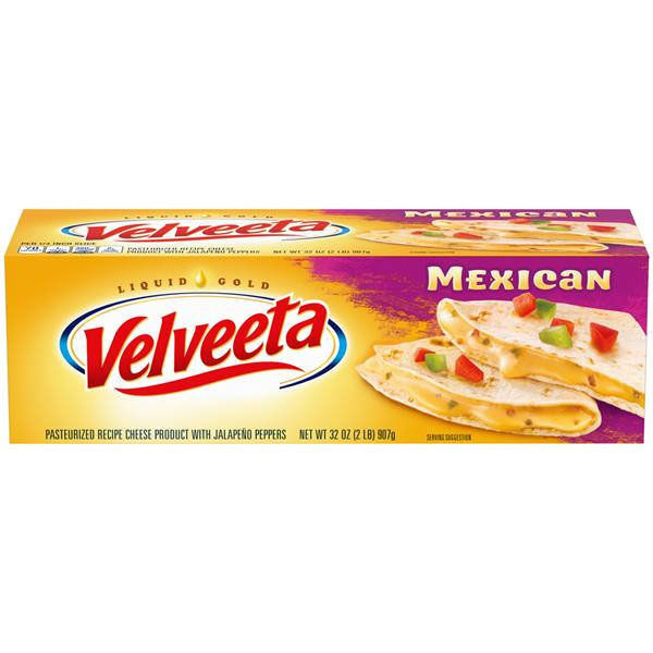 Velveeta Mexican Cheese Loaf