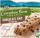 Cascadian Farm Organic Chocolate Chip Chewy Granola Bar 6-1.2 oz Bars
