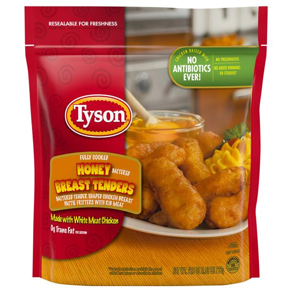 Tyson Honey Breast Tenders