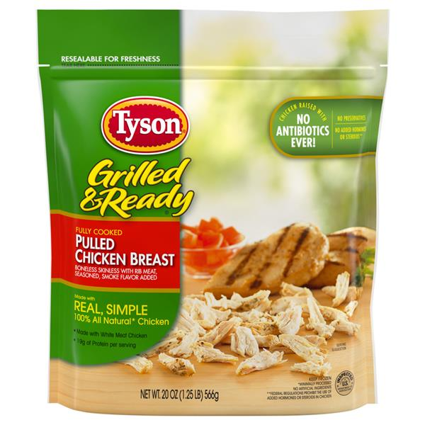 Tyson Grilled & Ready Pulled Chicken Breast