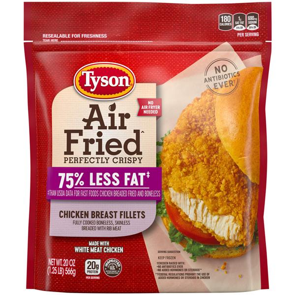 Tyson Air Fried Perfectly Crispy Chicken Breast Fillets